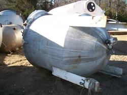 Image 800 Gallon Vertical Mix Tank - Stainless Steel 1442067