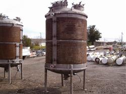 Image 900 Gallon PRECISION Vertical Mix Tank - 304 Stainless Steel 1442070