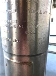 Image 300 Liter DCI  Pressure Jacketed Mix Tank - Stainless Steel 1443069