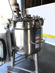 Image 300 Liter DCI  Pressure Jacketed Mix Tank - Stainless Steel 1443074