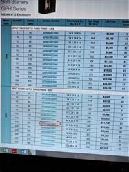 Image 150 HP WEG Combination Soft Starter - Model GPH150QC4001 SSW003 1443221