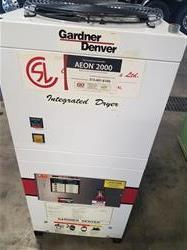 Image 15 HP GARDNER DENVER Electra Screw Drive Air Compressor  1443362