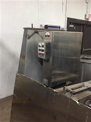 Image LITTLEFORD FKM-600-D Batch Plow Mixer With Two Choppers - Food Grade Stainless Steel 1443573
