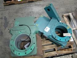 Image 10in STOCK EQUIPMENT Coal Gate Valves, No Operators - Lot of 2, Carbon Steel 1443621