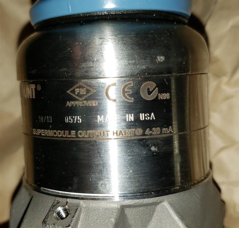 Image ROSEMOUNT DP Transmitter - Model 3051S2CD3A2B12A1AB4M5  1443693