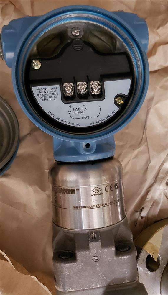 Image ROSEMOUNT DP Transmitter - Model 3051S2CD3A2B12A1AB4M5  1443691