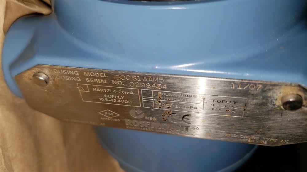 Image ROSEMOUNT DP Transmitter - Model 3051S2CD3A2B12A1AB4M5  1443692