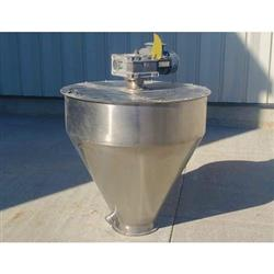 Image 15 Cu. Ft. Hopper with 3/4 HP Agitator - Stainless Steel  1443972