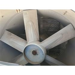 Image GREENHECK TAUB-48H-50 Tube Axial Upblast Roof Fan Exhauster 1444042