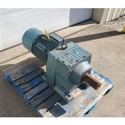 Image 20 HP SEW-EURODRIVE Helical Gear Motor - Output 24 RPM 1444090