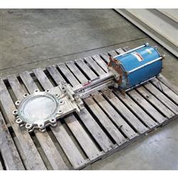 Image 10in DEZURIK KCB Knife Gate Valve - Stainless Steel 1444314