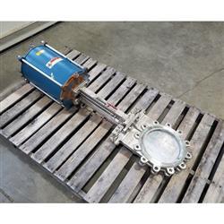 Image 10in DEZURIK KCB Knife Gate Valve - Stainless Steel 1444330