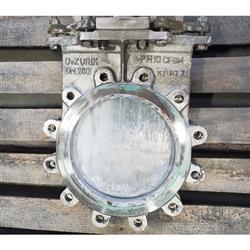 Image 10in DEZURIK KCB Knife Gate Valve - Stainless Steel 1444333
