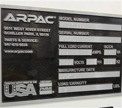 Image ARPAC PC 2000 Wraparound Case Packer 1444452