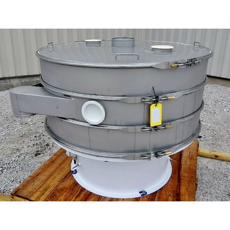 Image 60in Two Deck Vibratory Separator Screener Sifter Shaker - Stainless Steel 1444521