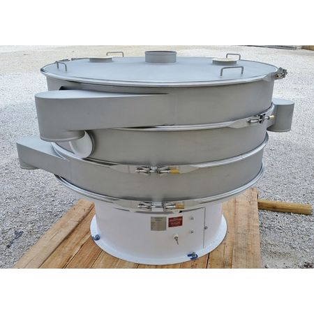 Image 60in Two Deck Vibratory Separator Screener Sifter Shaker - Stainless Steel 1444522