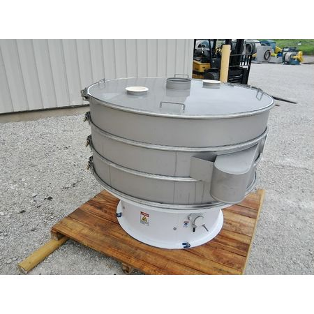 Image 60in Two Deck Vibratory Separator Screener Sifter Shaker - Stainless Steel 1444523