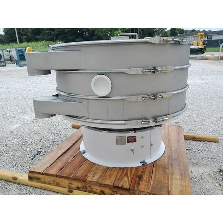 Image 60in Two Deck Vibratory Separator Screener Sifter Shaker - Stainless Steel 1444524