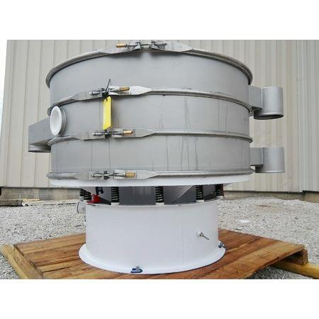 Image 60in Two Deck Vibratory Separator Screener Sifter Shaker - Stainless Steel 1444559