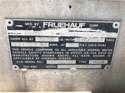Image 1980 FRUEHAUF Fuel / Oil Tanker - 5 Compartments 1445301