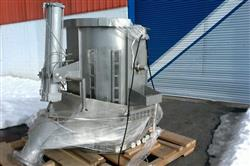 Image 46in GLATT WURSTER Fluid Bed Dryer / Coater 1445472