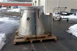 Image 46in GLATT WURSTER Fluid Bed Dryer / Coater 1445477