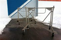 Image 46in GLATT WURSTER Fluid Bed Dryer / Coater 1445479