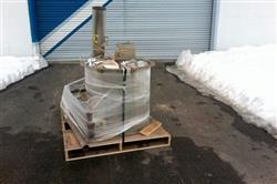 Image 46in GLATT WURSTER Fluid Bed Dryer / Coater 1445507