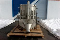 Image 46in GLATT WURSTER Fluid Bed Dryer / Coater 1445529