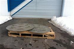 Image 46in GLATT WURSTER Fluid Bed Dryer / Coater 1445536