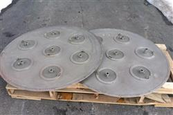 Image 46in GLATT WURSTER Fluid Bed Dryer / Coater 1445537