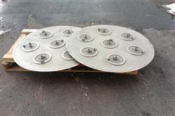 Image 46in GLATT WURSTER Fluid Bed Dryer / Coater 1445538