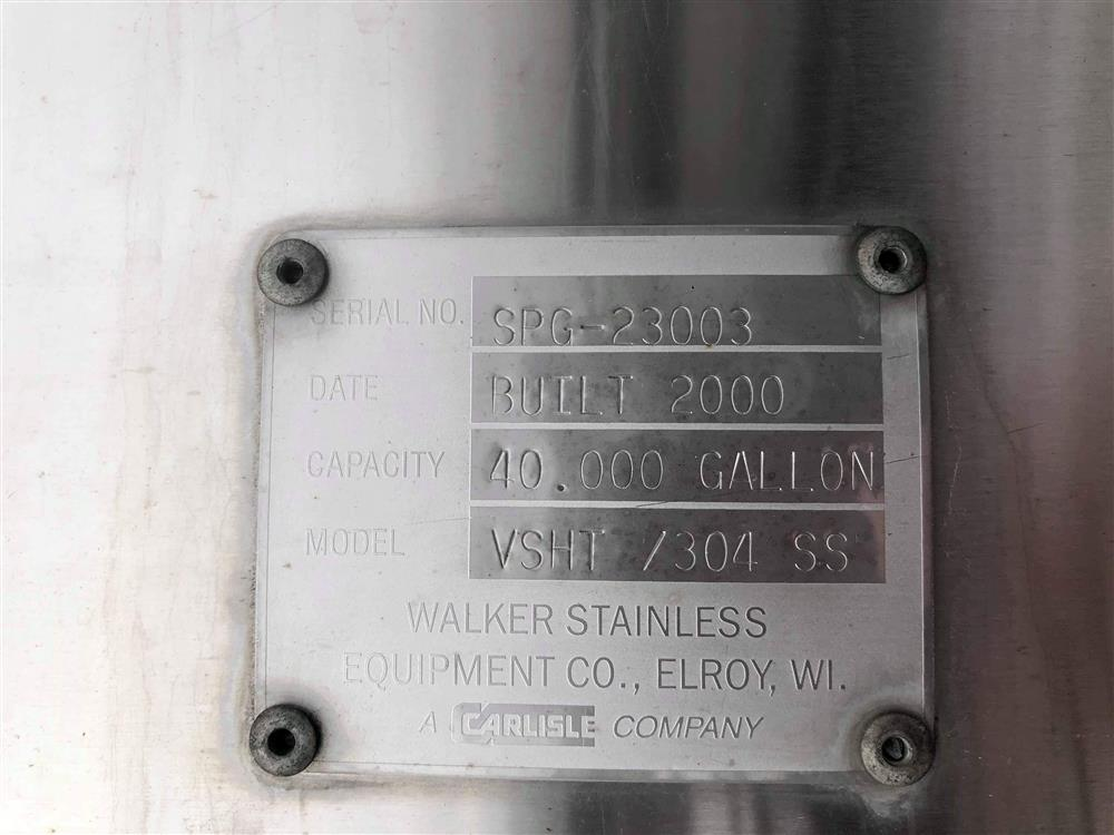 Image 40000 Gallon WALKER Silo - Stainless Steel 1446425