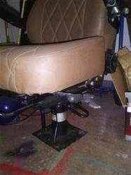Image GE High Back Passenger Seat with Pneumatic Assembly 1446735