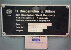 Image BURGSMUELLER Whirling Machine 1446850