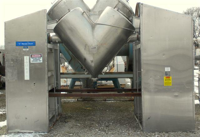 Image 20 Cu. Ft. GEMCO Twin Shell Vacuum Dryer 1447234