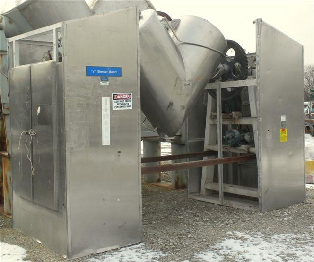 Image 20 Cu. Ft. GEMCO Twin Shell Vacuum Dryer 1447235