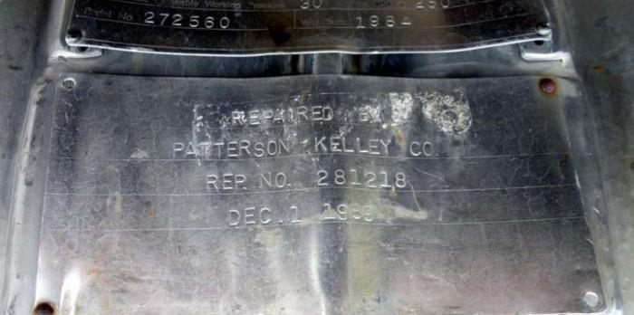 Image 20 Cu. Ft. PATTERSON KELLEY Twin Shell Solids Processor 1447269