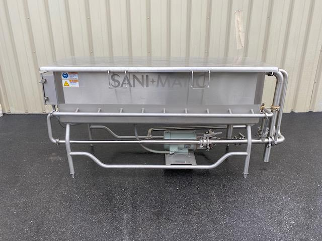 Image SANI-MATIC COP Tank with Pump and Baskets 1447292