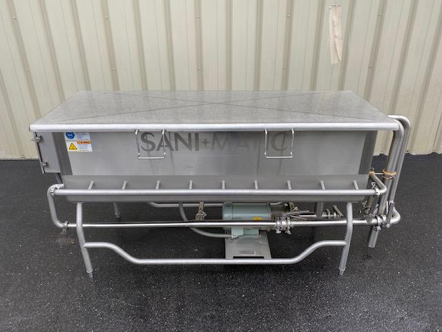 Image SANI-MATIC COP Tank with Pump and Baskets 1447298