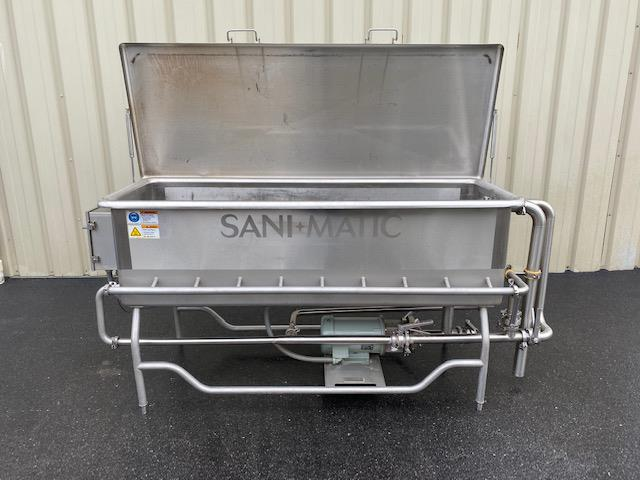 Image SANI-MATIC COP Tank with Pump and Baskets 1447299
