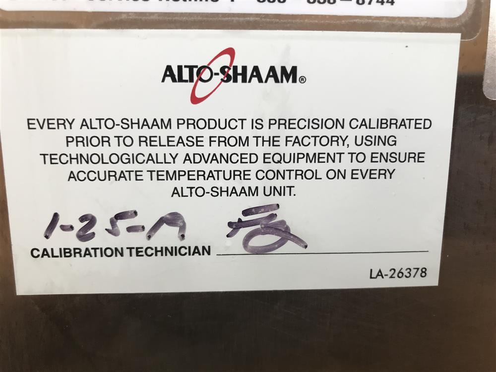 Image ALTO SHAAM 1200 TH/III Oven 1447324