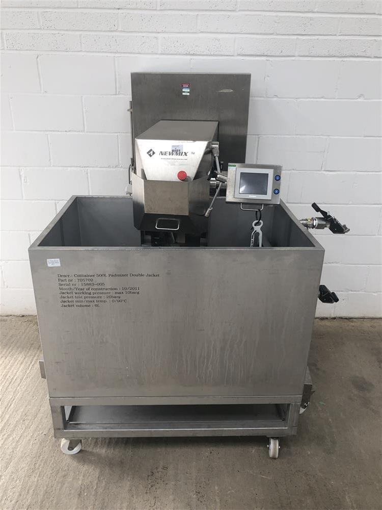 Image NEWMIX  500L Jacketed Lab Style Paddle Mixer 1447367
