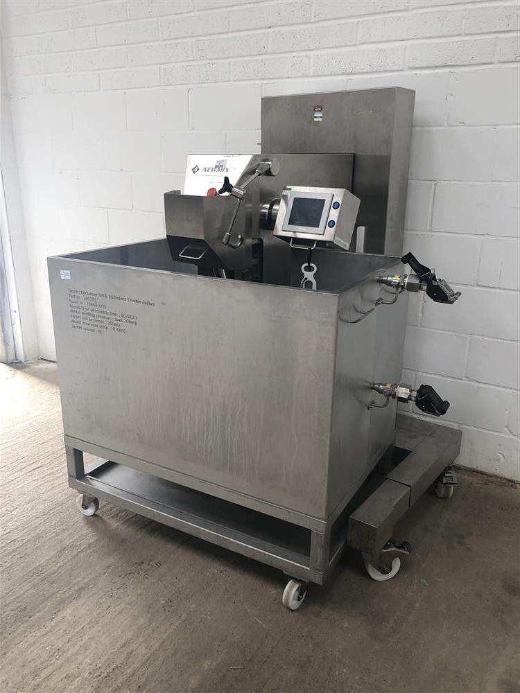 Image NEWMIX  500L Jacketed Lab Style Paddle Mixer 1447368