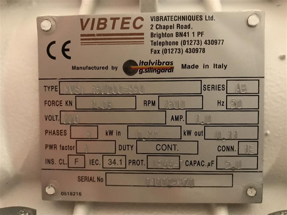 Image RUSSELL FINEX Vibratory Sieve 1447396