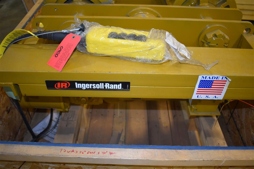Image 16 Ton INGERSOLL RAND/CHESTER Hoist and YALE Overhead Crane 1447458