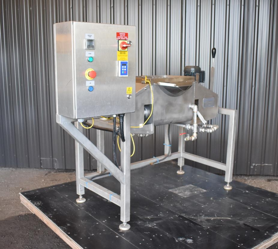 Image .5 Cu. Ft. A&M PROCESS Jacketed Dual Ribbon Blender 1447668