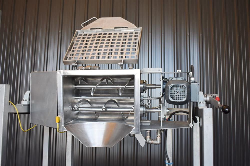 Image .5 Cu. Ft. A&M PROCESS Jacketed Dual Ribbon Blender 1447677