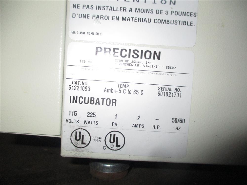 Image PRECISION Incubator 1447688