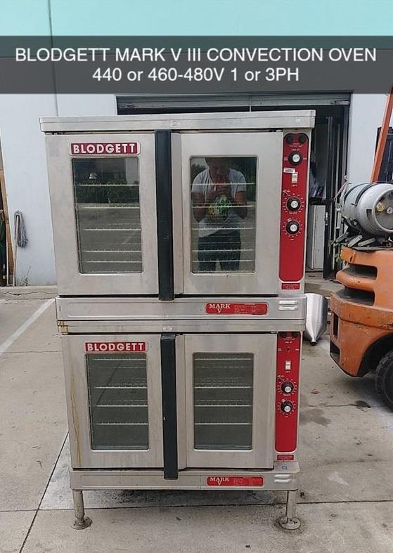 Image BLODGETT MARK V 111 Electric Double Stack Convection Oven 1447699
